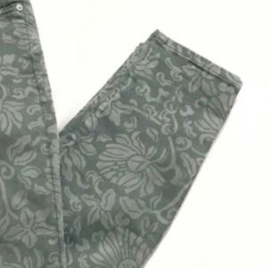 7 For All Mankind Jeans - 7FAM Floral Ankle Jeans Gwenevere